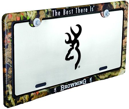 Browning Universal Camo License Plate Frame | truck stuff ...