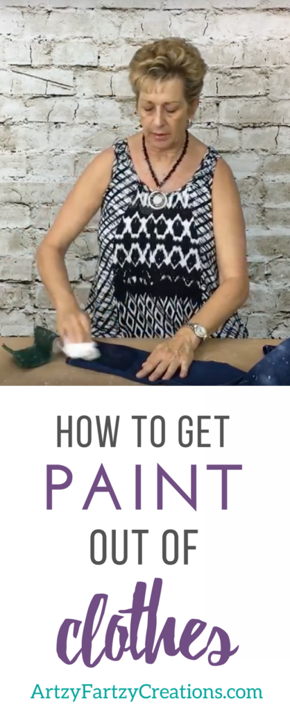 How To Get Paint Out Of Clothes Paint Stains Paint Clothes