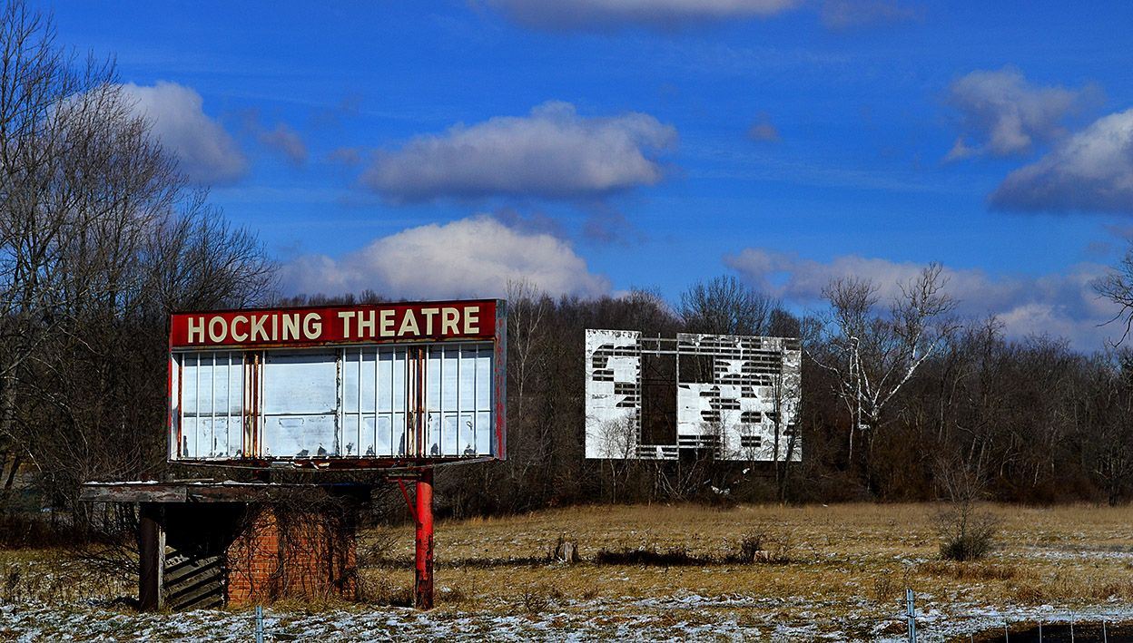 Hocking Theater on Rt. 33 in Hocking County near Logan
