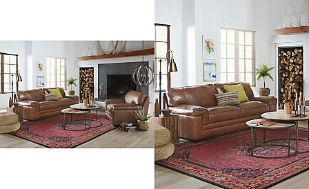Peachy Shop The Look Myars Leather Sofa Leather Couches And Machost Co Dining Chair Design Ideas Machostcouk