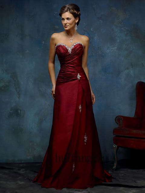 Red Wedding Prom Party Dresses Gowns With Lace Up 8 10 Ebay