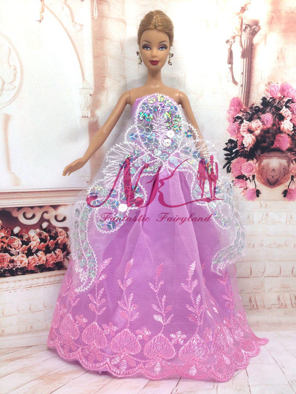 Lujoso Vestidos De Novia Barbie Regalo - Colección de Vestidos de ...