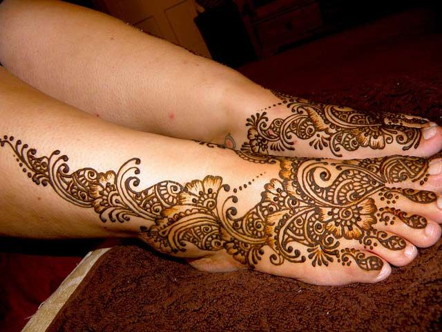 Leg Mehndi Wallpaper : Henna tatoo basic designs tattoos club for legs