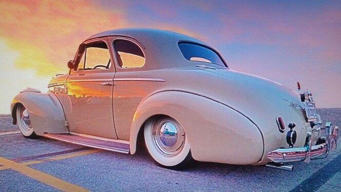 Pushin' Gravel 40 Coupe Chevy Bomb