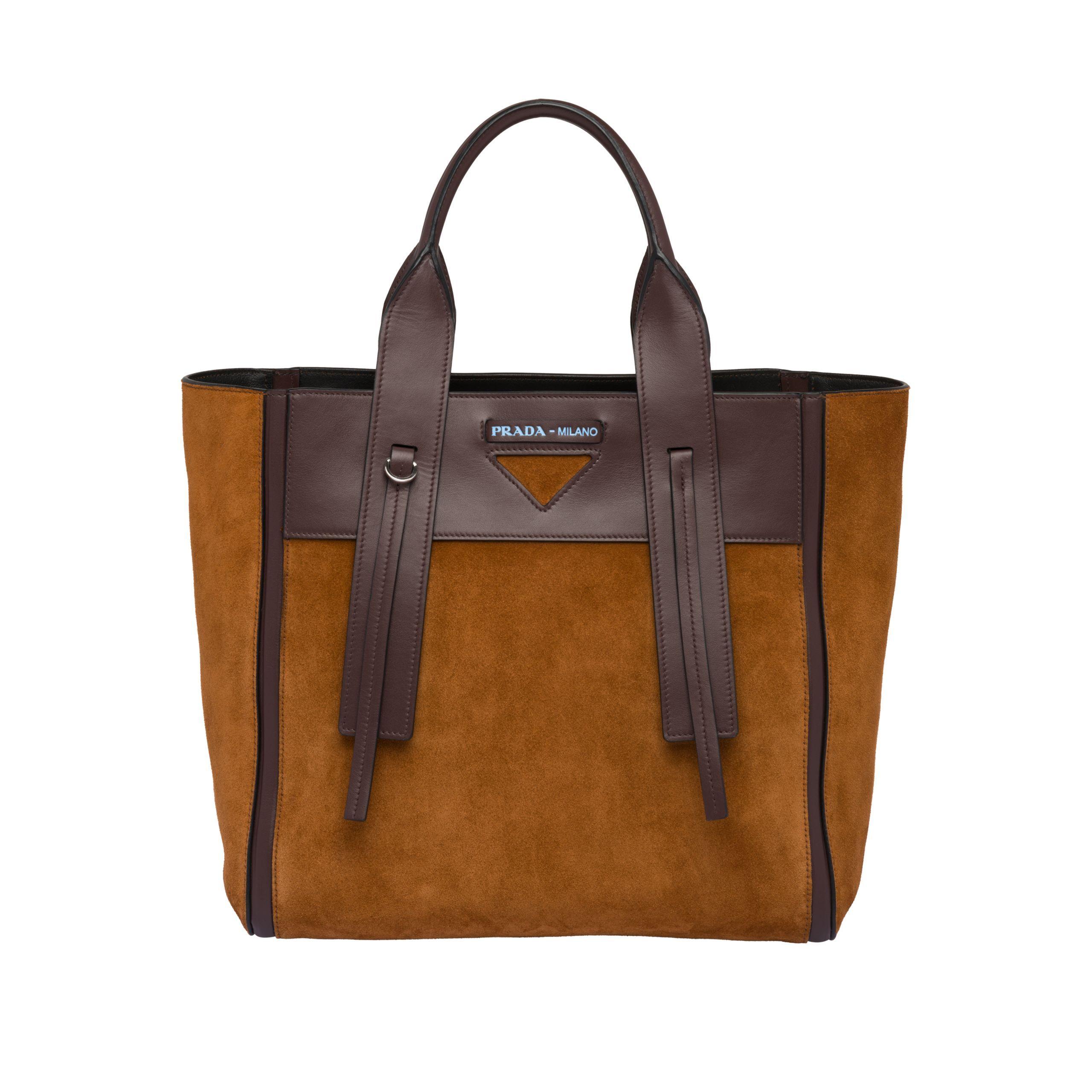 77f1e0b464cb5f Borsa Prada Ouverture maxi in pelle   BAGS in 2019   Pinterest   Bags and  Prada