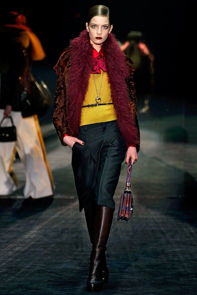 Gucci Fall 2011 Ready-to-Wear Collection Photos - Vogue