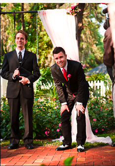 best groom reaction to seeing his bride. ever.