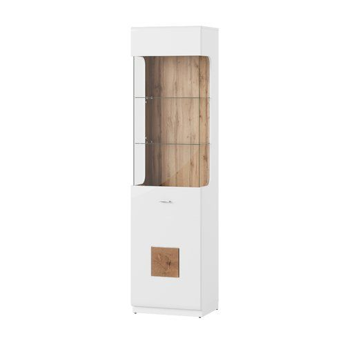 Metro Lane Leila 1 Door Display Cabinet Wall Mounted Display Cabinets Door Displays Home Additions