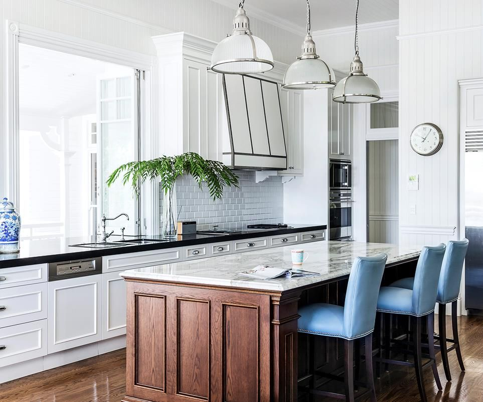 classic queenslander updated for family living queenslander kitchen interior new home designs on kitchen interior queenslander id=38215