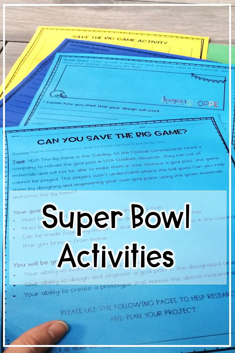 Football Science Stem And Metric Measurement Activity To Incorporate Super Bowl Sunday Measurement Activities Science Skills Stem Activities [ 1152 x 768 Pixel ]
