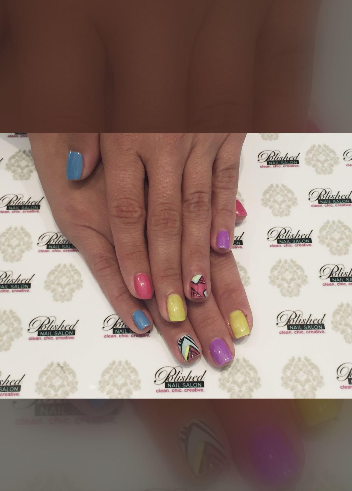 Pin by Polished Nail Salon on Summer Nails | Pinterest