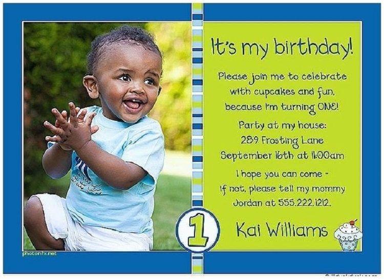 first birthday invitation funny wording