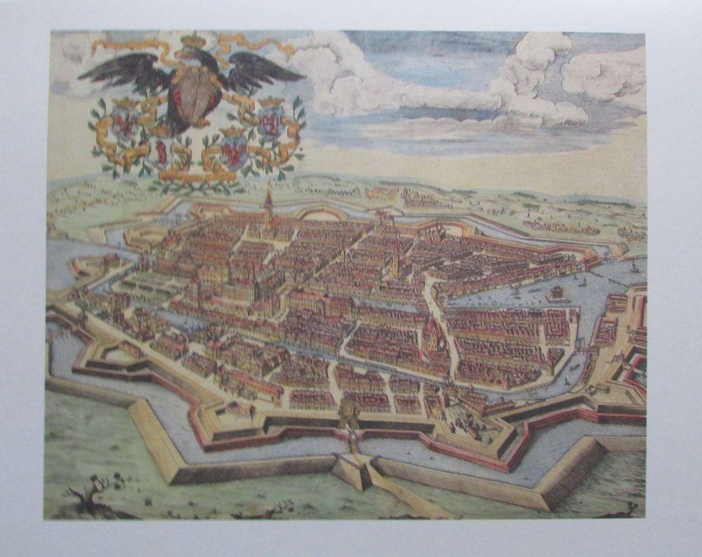 Schultz RESIDENTIA ELECTRORALIS BRANDENBURGICA 1688 Berlin