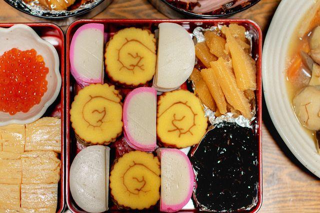 Osechi ryori (おせち料理) by christinayan01 on Flickr.