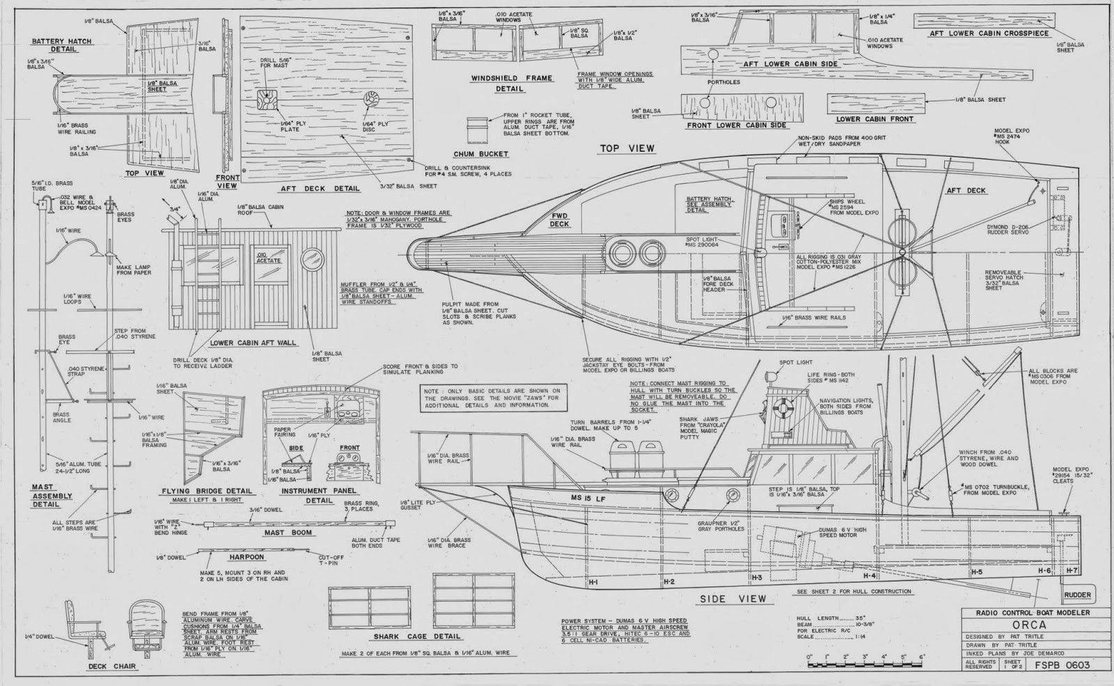 Free Wood Boat Plans Woodenrowboatplans Model Boats Model Boat Plans Orca