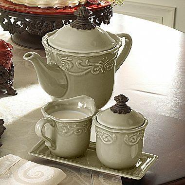 Chris Madden® Corvella Tea Set - jcpenney & Chris Madden® Corvella Tea Set - jcpenney | Chris Madden | Pinterest ...