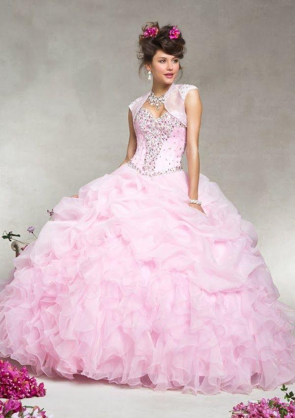 Grandiosos vestidos de Quinceanera | Coleccion Vizcaya 2014 | prom<3 ...