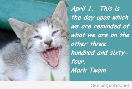 Image result for april fool day quote