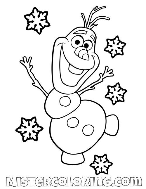 Frozen 2 Coloring Pages For Kids — Mister Coloring in 2020 ...