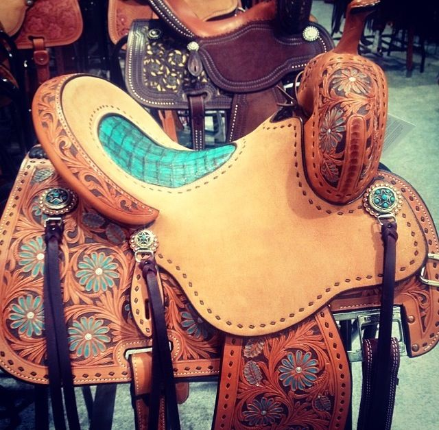 Sherry Cervi Saddles Are Me 2nd Favorite Right Next To