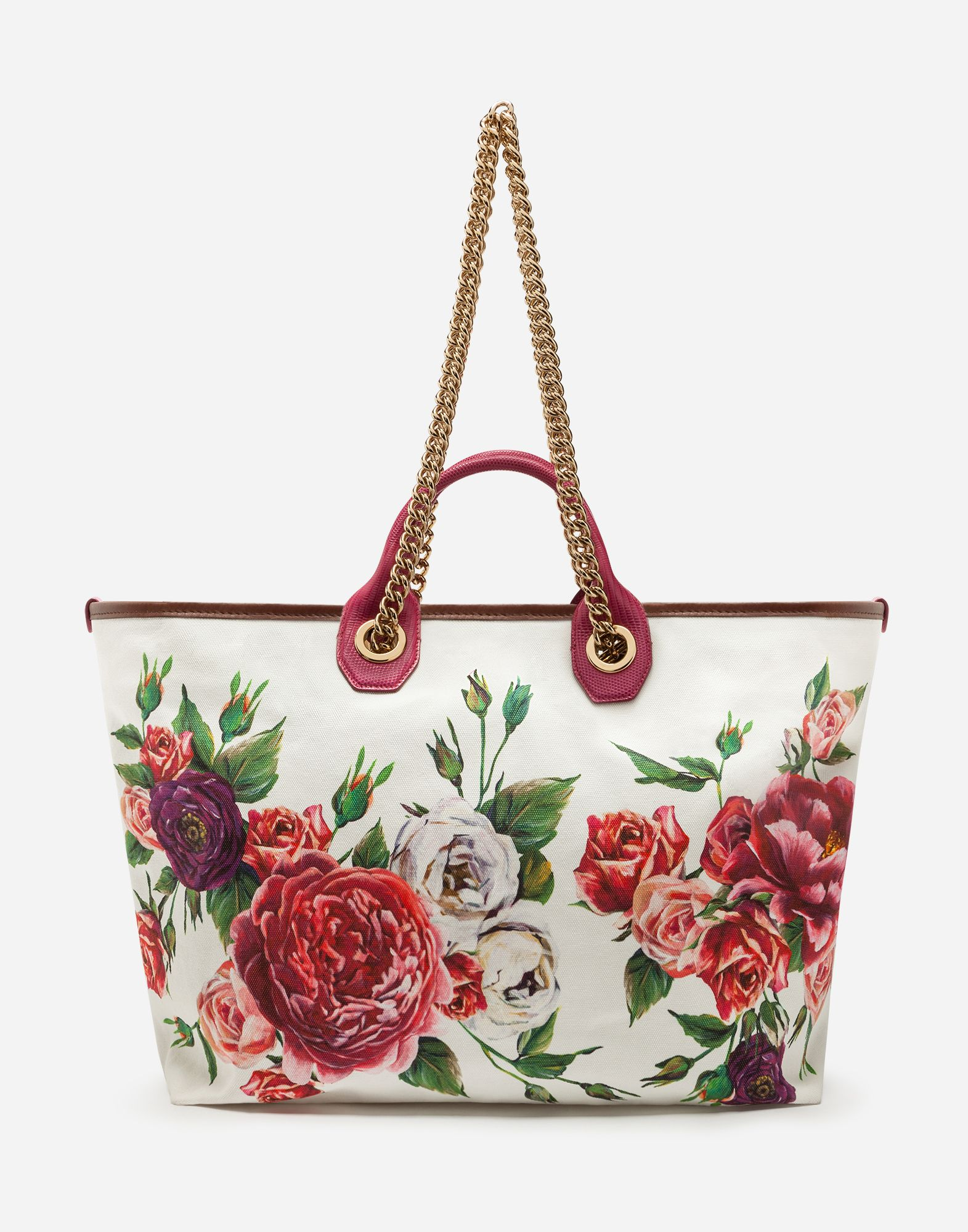 c7b1ebf61b42 2018 年の「Medium capri shopping bag in printed canvas」