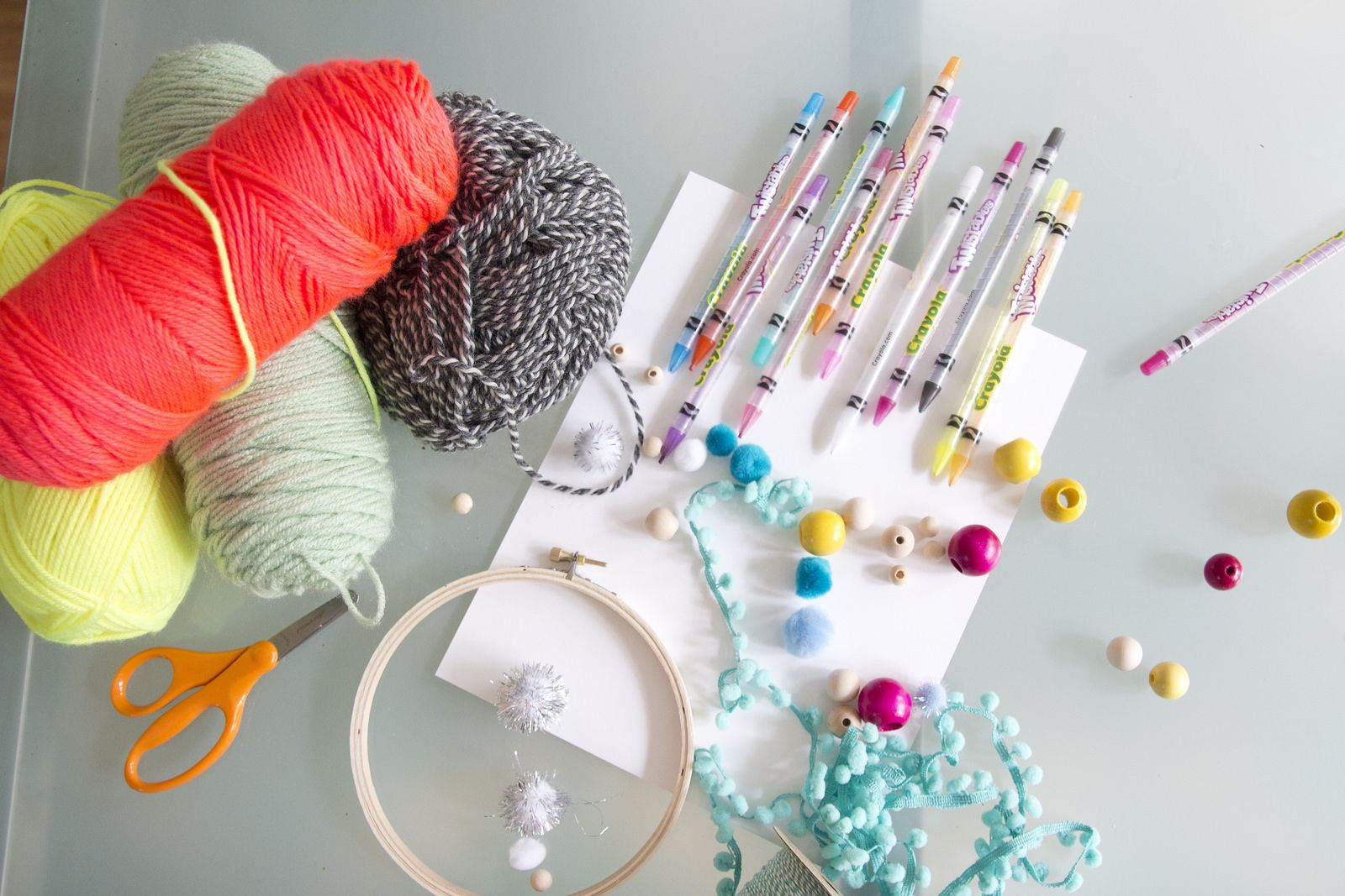 Dream Catcher Materials Crafts With Kids  Dream Catchers Via Jen Lularichardson  Diy