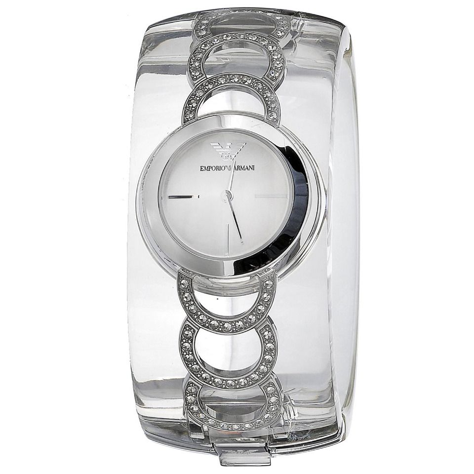 Armani | Bangle Watch In Silver