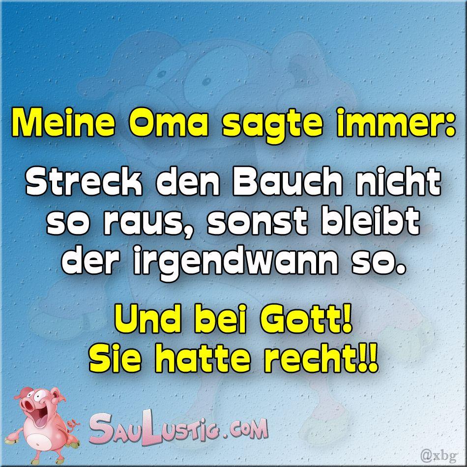 Oma-sagte-immer    http://saulustig.com