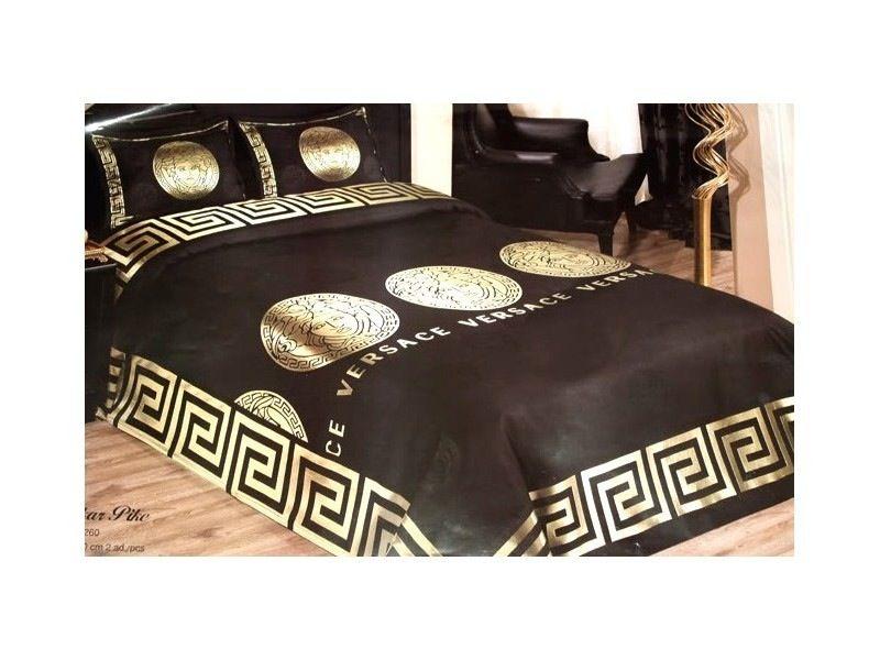 Schlafzimmer Versace ~ Versace bedspread set jacquard bed cover home medusa 1.jpg 800