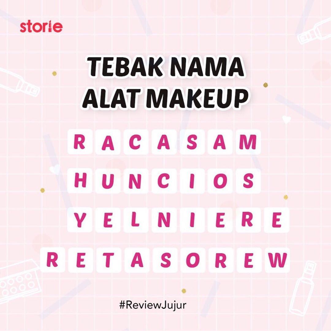 Tebak Nama Alat Makeup Nama Kerja Tag