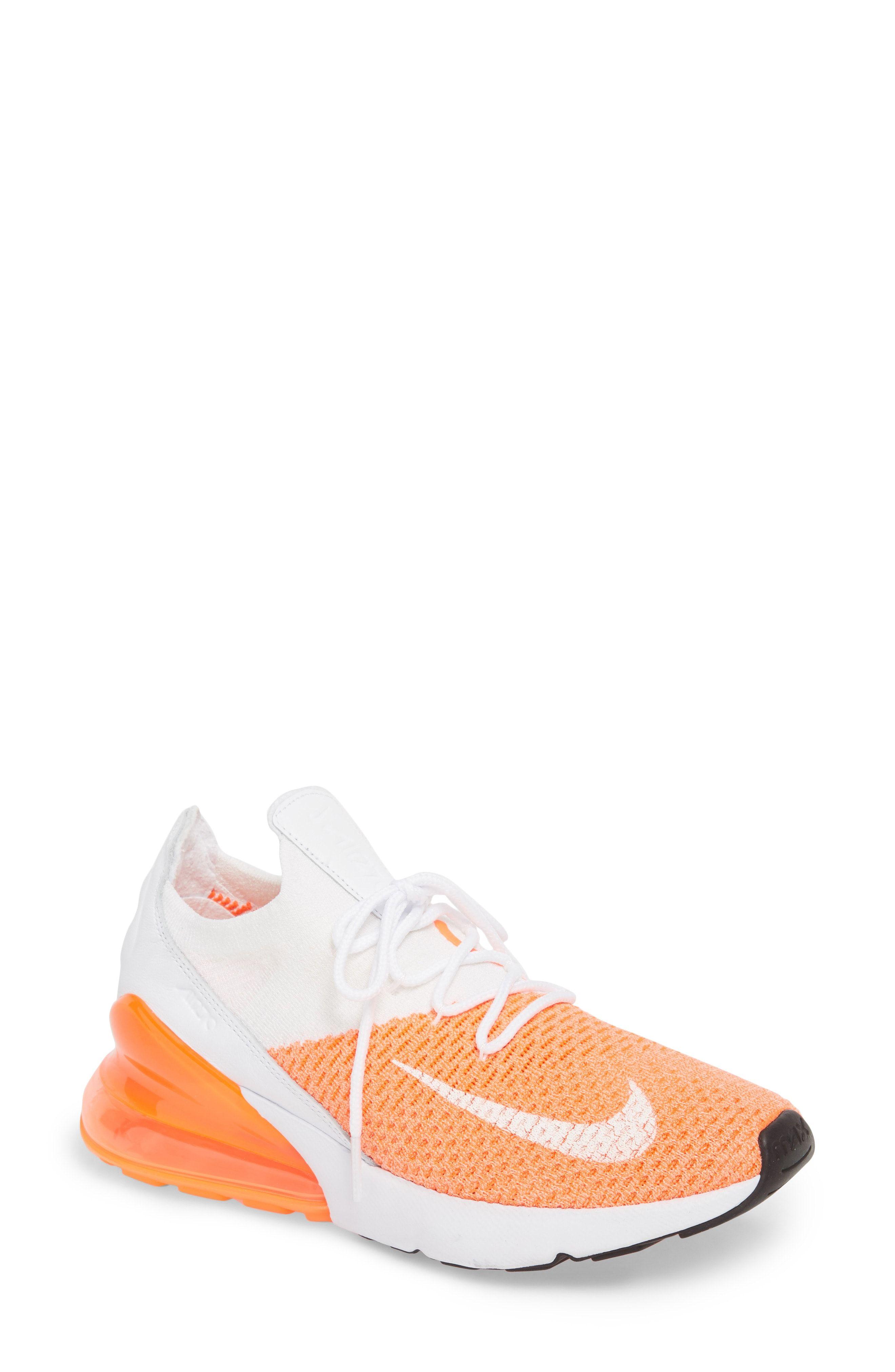 44a847fd2b83 Nike Air Max 270 Flyknit Sneaker (Women)
