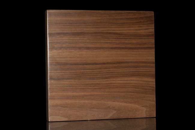 Custom Walnut Ikea Door Horizontal Or Vertical Grain