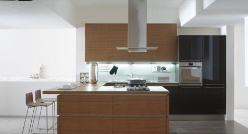 Futuro Futuro 36 Loft Inox Island Range Hood Modern Kitchen Design Kitchen Furniture Design Interior Design Kitchen