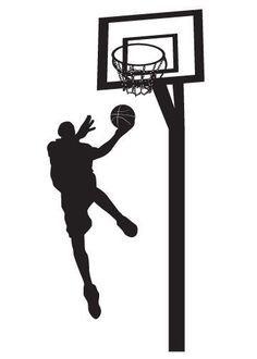 Vinyl Wall Sticker Decal Art Basketball Player Etsy Vinyl Wall Stickers Basketball Decal Wall Sticker