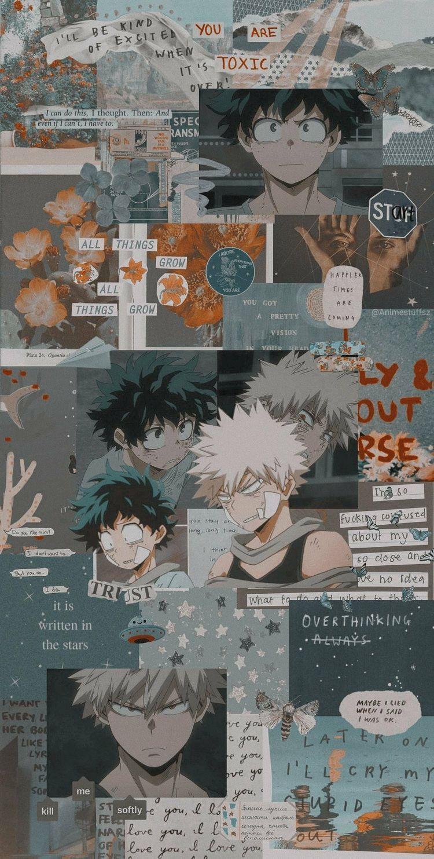 Bnha Pics Bnha Wallpapers Aesthetic Anime Anime Wallpaper Iphone Hero Wallpaper