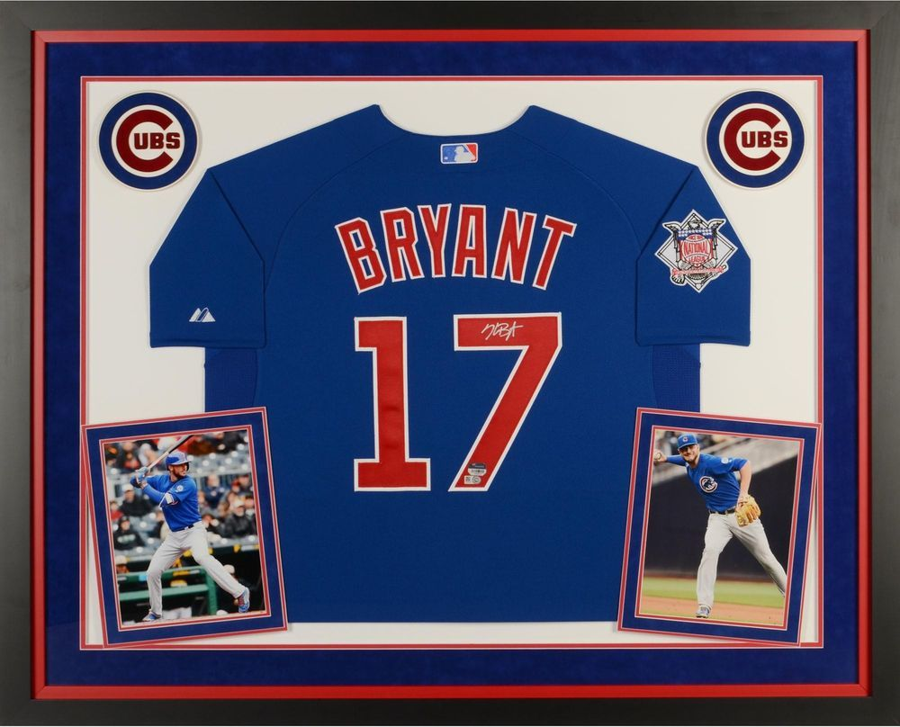Kris Bryant Chicago Cubs Deluxe Framed Autographed Authentic Jersey -  Fanatics 75e7a1d35