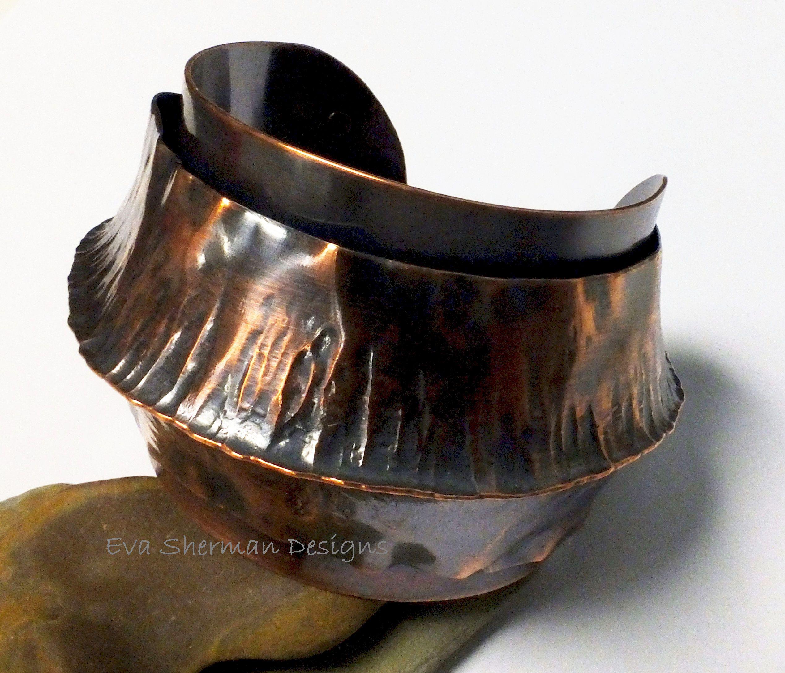 Fold Form Cuff 1 Metal Jewelry Jewelry Inspiration Copper Jewelry