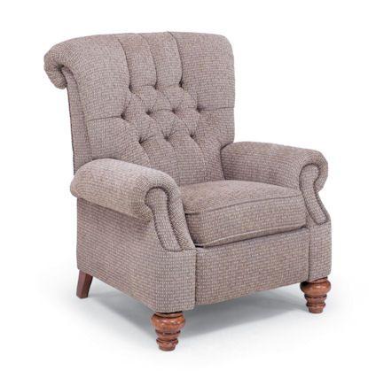 Flexsteel Furniture: Recliners: EquestrianHigh Leg Recliner (501R 503)  Equestrian High Leg