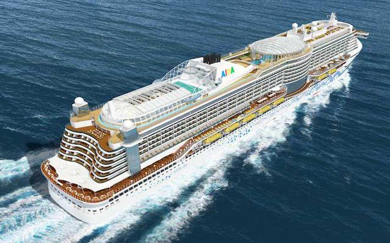Aida Cruises Names New Ship Aidaprima Cruise Ship Biggest Cruise Ship Cruise
