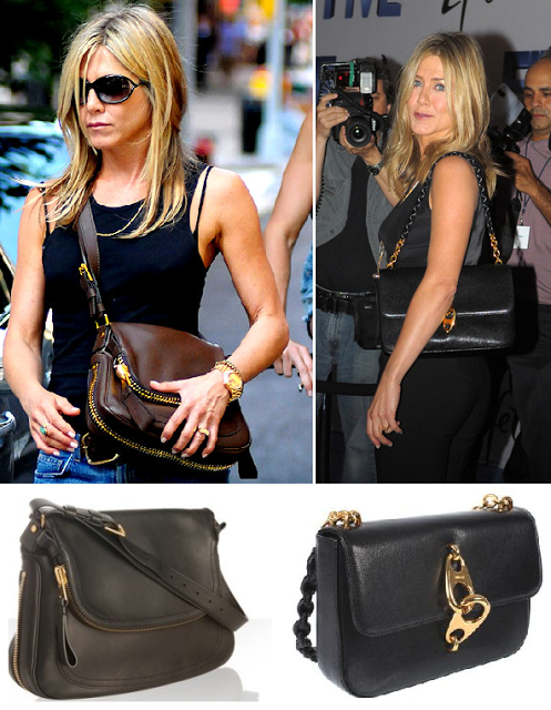 22e9bf5f0c939 Zapping de looks  Jennifer Aniston y sus carteras Tom Ford