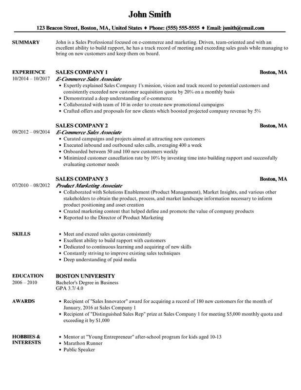CV vs Resume: What's the Difference [Side-by-Side Examples ...