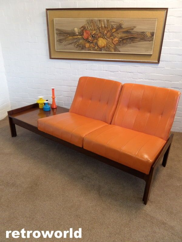 Captivating 60s 70s Mid Century Retro Vintage Modular Sofa Chair U0026 Table Unit Available  From Retroworld Www