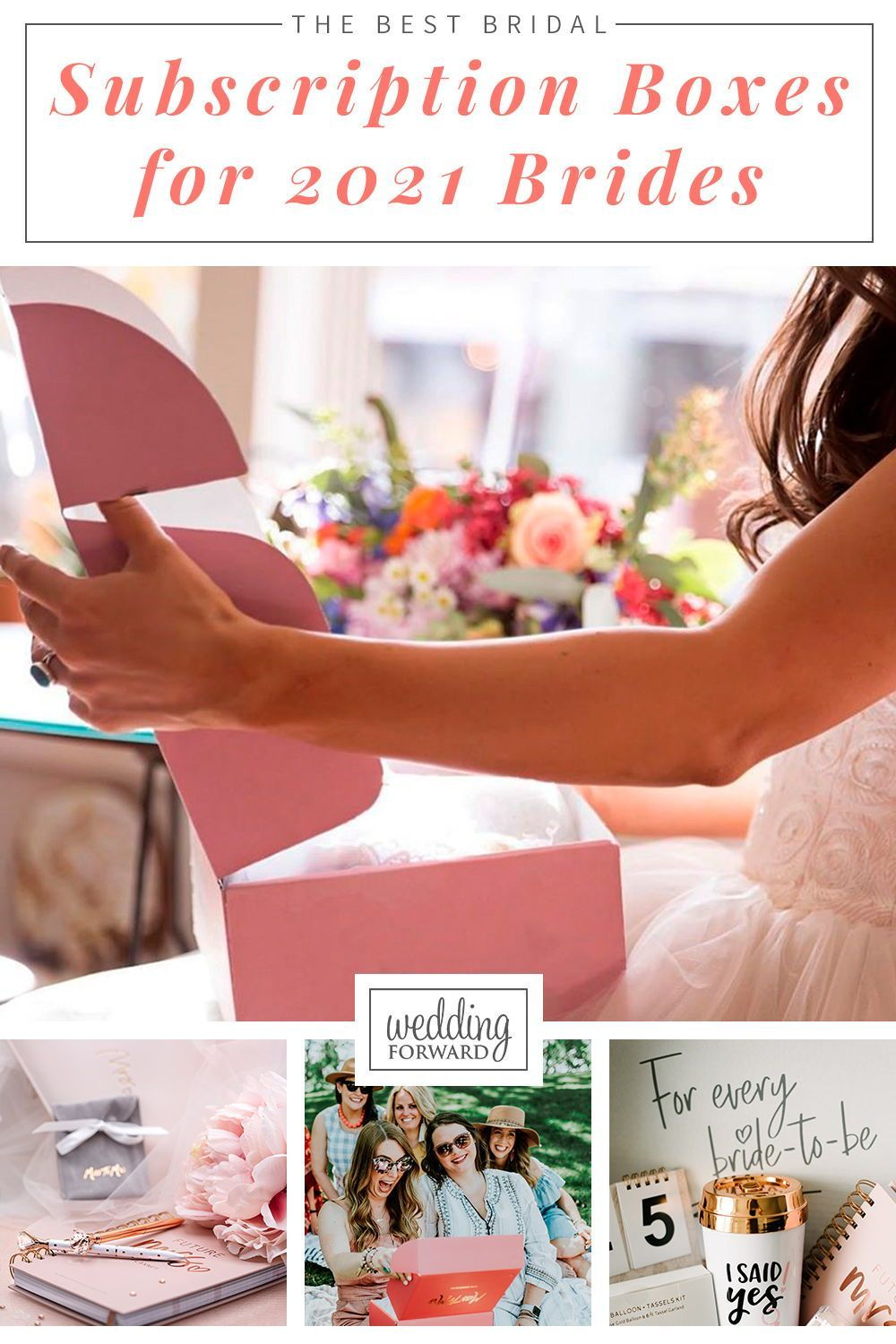 Best Subscription Boxes 2021 The Best Bridal Subscription Boxes For 2021 Brides in 2020