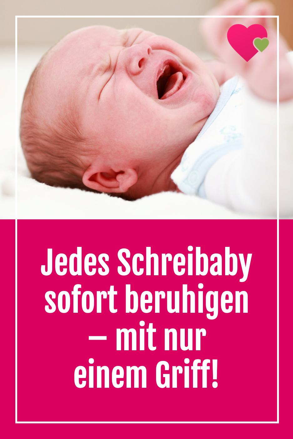 Photo of Jedes Schreibaby sofort beruhigen – mit nur einem Griff!