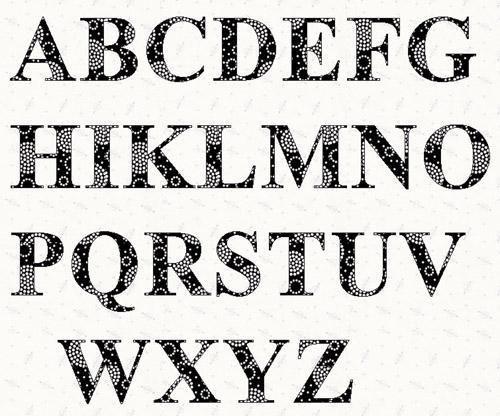 2 Inch Letter Stencils Alphabet Printable | Doings. | Letter