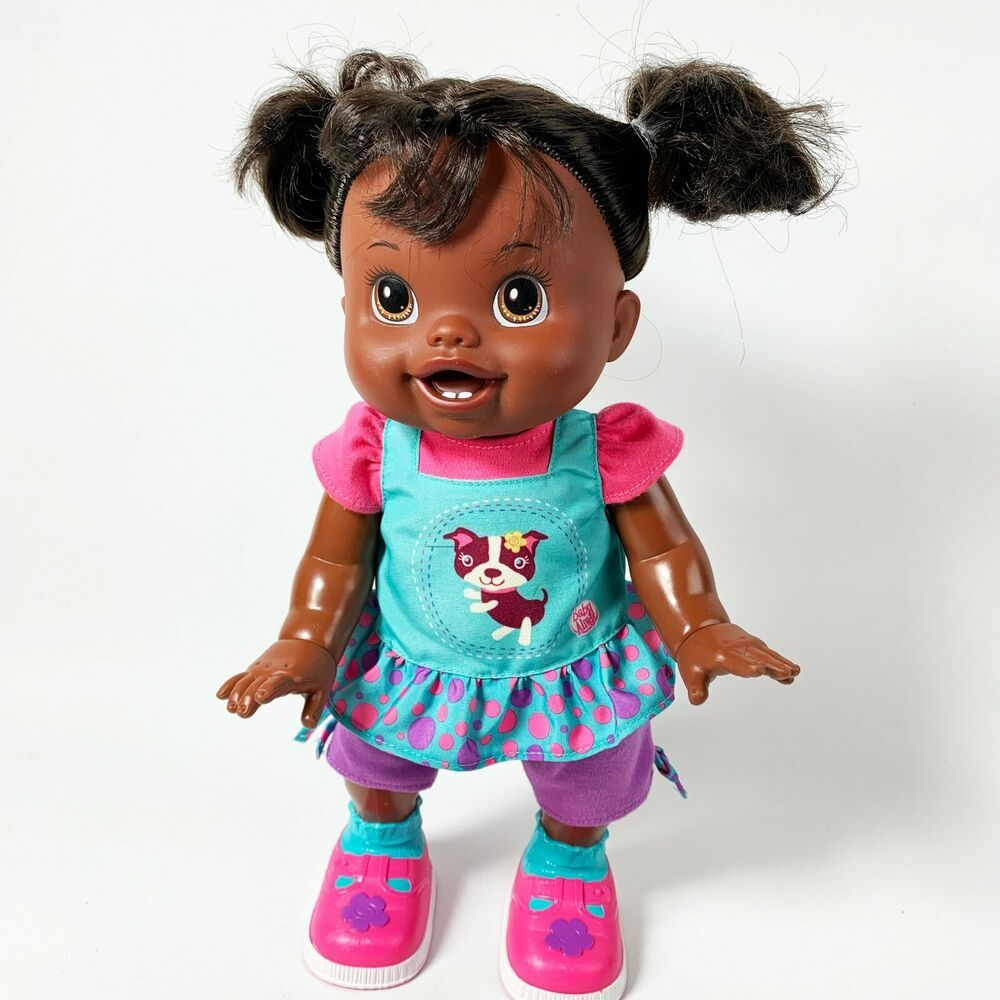 Details About Baby Alive Baby Wanna Walk African American 2011 Doll In 2020 Baby Alive African American African