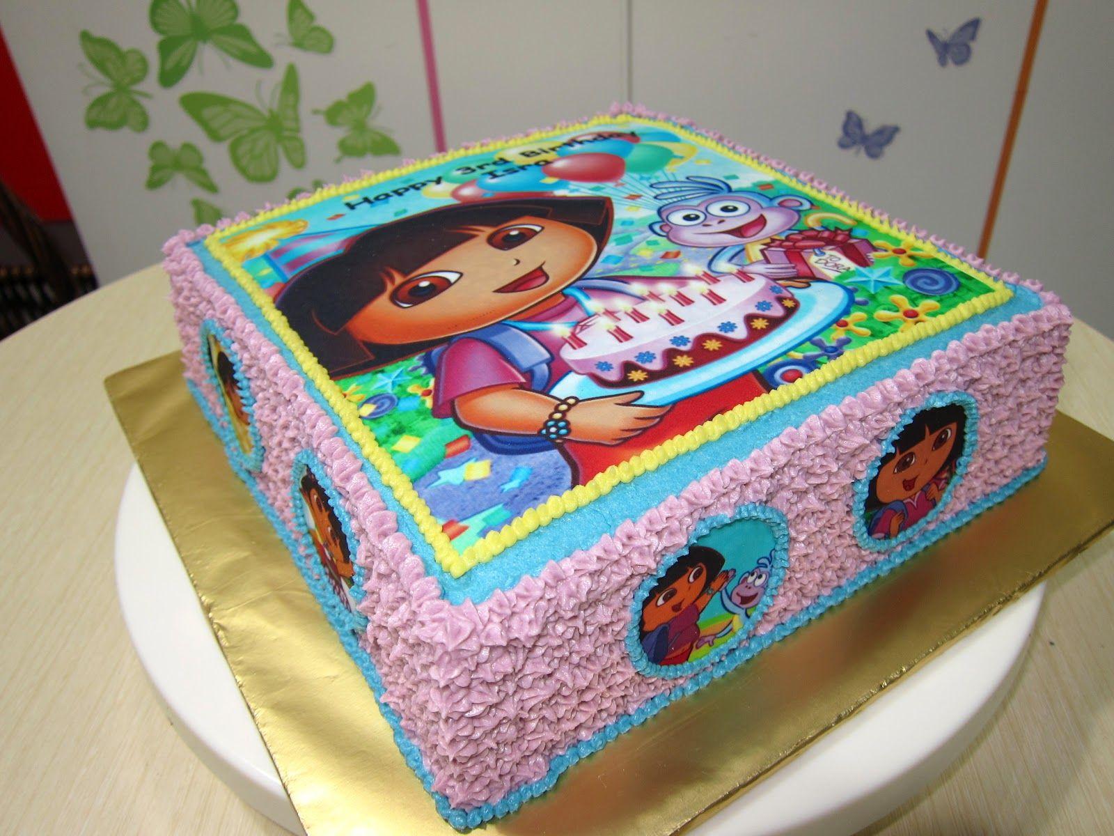 Cake Design Dora L Exploratrice : dora cake - Recherche Google gateaux anniversaires ...