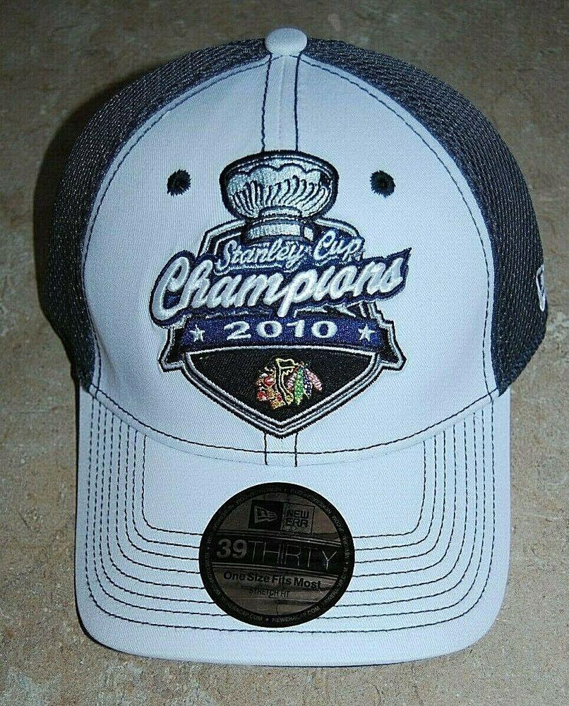 best authentic d4923 4cc12 New Chicago Blackhawks Stanley Cup 2010 Champions Locker Room Hat New Era   NewEra  ChicagoBlackhawks