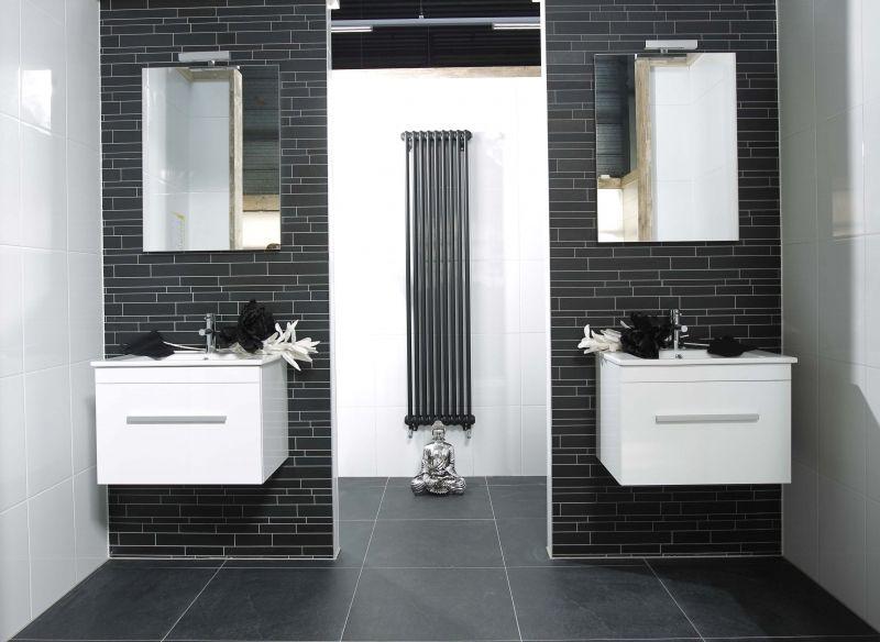 Badkamer ideeen interieur idee n van dijk tegels dordrecht badkamers pinterest spaces - Badkamers ...