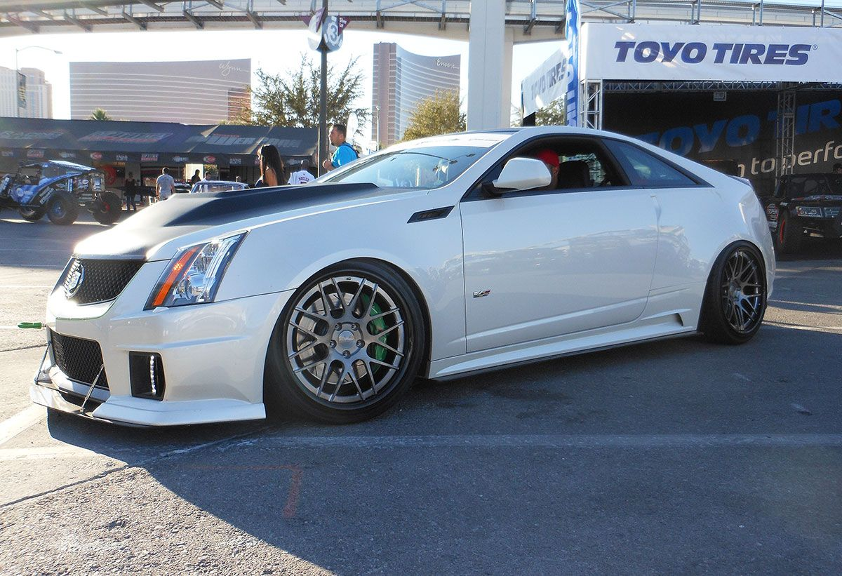 D3 Cadillac S Cts V Coupe On Forgeline De3c Concave Wheels